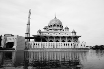 Putra Mosque is the principal mosque of Putrajaya