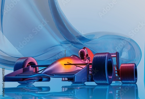 Foto op Canvas F1 Racing cars