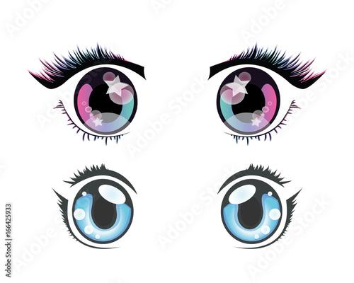 anime eyes - 166425933