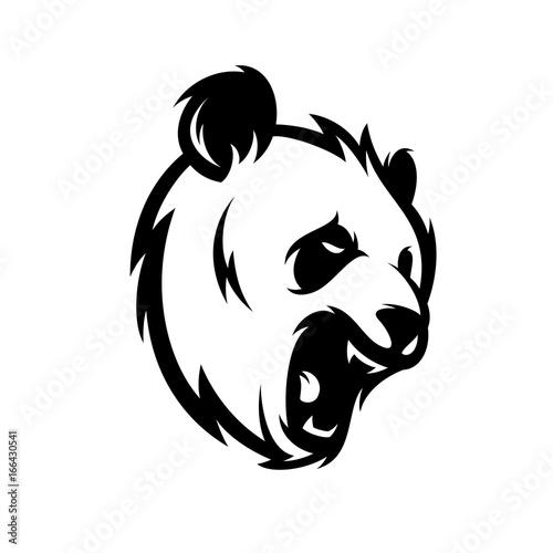 Fototapeta Panda Vector Logo Illustration
