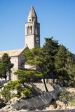 The Franciscan Monastery on Lopud, Dalmatian coast, Southern Croatia.  One of the Elaphiti islands. - 166452984
