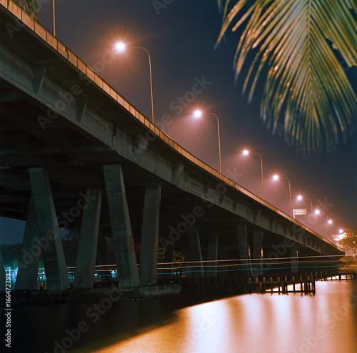 Poster Bridge over Singapore River
