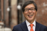 Asian businessman face portrait - 166474584