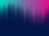 Vector halftone gradient effect. Vibrant abstract background. Retro 80's style colors and textures. - 166478311