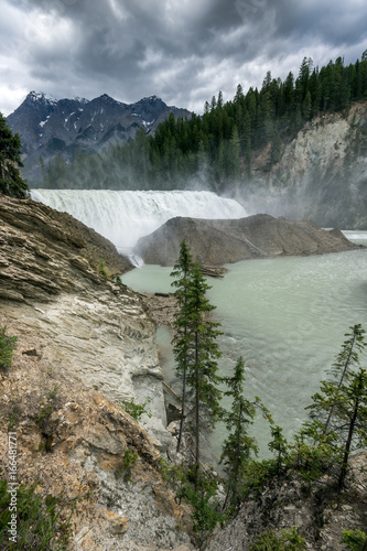 Wapta Falls im Yoho National Park, British Columbia, Canada