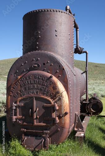 Antique boiler Poster