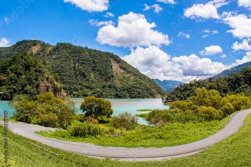 Foto op Aluminium Bleke violet Reservoir