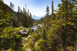 Yoho River view,  Yoho National Park  British Columbia, Canada