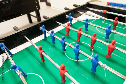 Table football is another group activity
