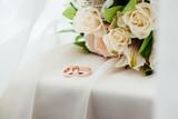 the bride's bouquet - 166555378