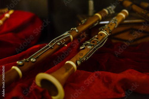 Wooden oboe