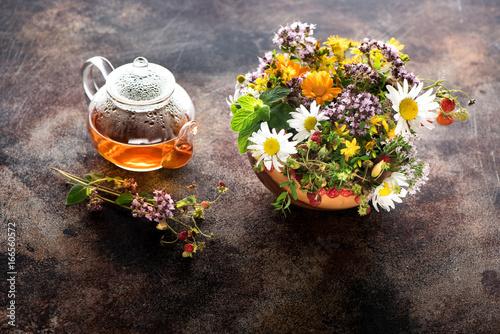 Zioła medyczne. Herbata ziołowa