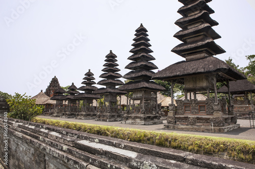 Pura Ulun Danu Bratan temple at a lake, Bali, Indonesia
