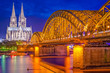 Cologne, Germany Skyline