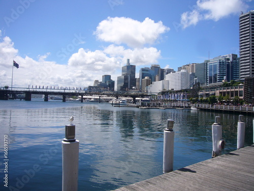 Tuinposter Sydney australia sydney harbour