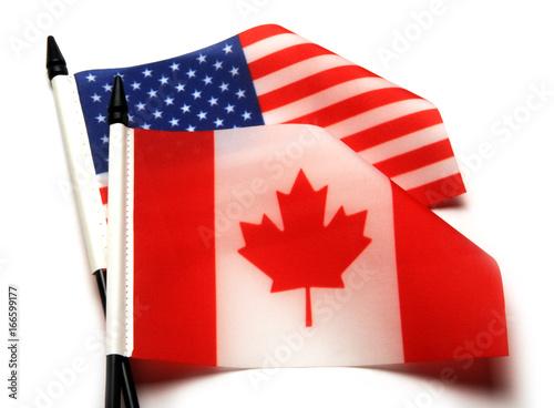 Spoed canvasdoek 2cm dik Canada 166599177