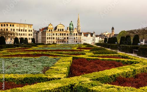 Brussels skyline Belgium