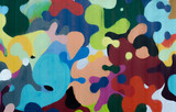Background of colorful spots
