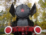 Radziecka lokomotywa parowa