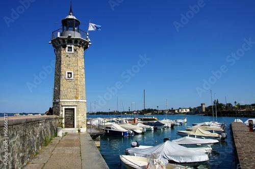 Foto op Aluminium Pier port de Desenzano