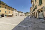 Piazza Garibaldi, Cetona, Siena, Italy