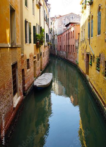 Spoed canvasdoek 2cm dik Venetie canal de Venise