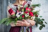 nice women with flowers - 166669775