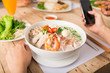 TRaditional Vietnamese soup - 166681577