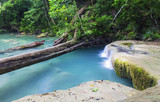 Erawan waterfall  Beautiful in Thailand