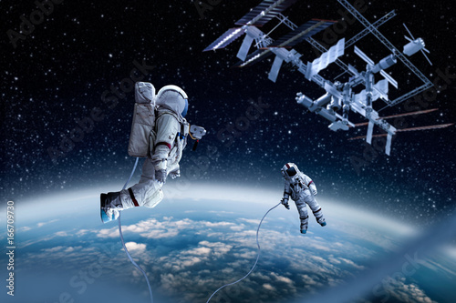 Foto op Plexiglas Heelal spaceman