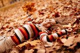 Enjoying In Autumn - 166733376