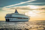 Statek wypływa wieczorem z Łotwy do Szwecji