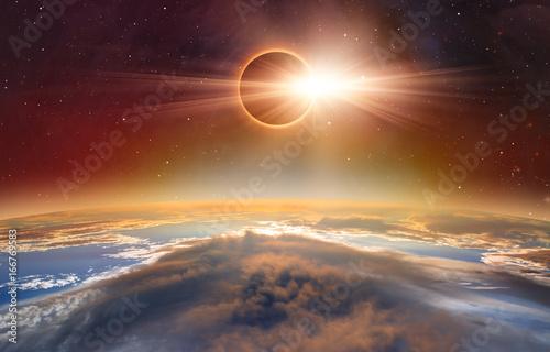solar-eclipse-quot-elementy-tego-zdjecia-dostarczone-przez-nasa-quot