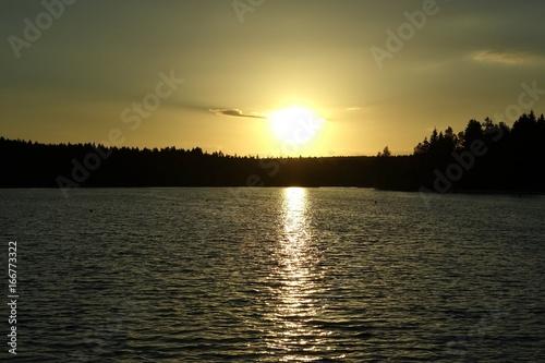 Foto op Plexiglas Landschappen sonnenuntergang