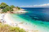 amazing beach on Corfu island, Greece