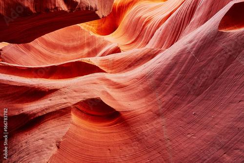 Foto op Canvas Baksteen Lower Antelope Canyon near Page, Arizona, USA