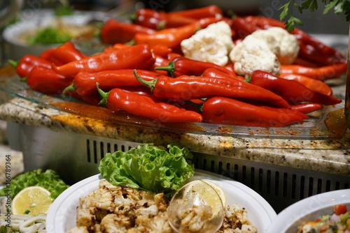 Salad bar - 166789364