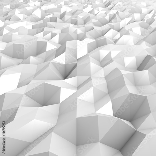 Abstract structure white - 166792973