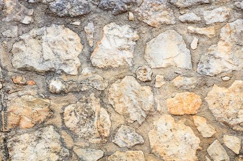 Foto op Aluminium Stenen Exterior stone wall background