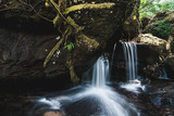 Waterfall in Phuhinrongkla National Park,Thailand