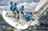 Sailing yacht race, regatta. Recreational Water Sports, Extreme Sport Action. Healthy Active Lifestyle. Summer Fun Adventure. Hobby - 166816500