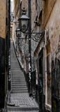 Najmniejsza ulica w Sztokholmie - Marten Trotzigs grand