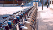 Bicycle sharing and rental system in Montreal, Quebec, Canada