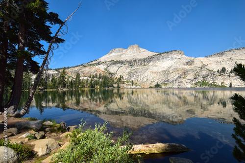 Yosemite, May Lake Canvas Print