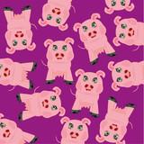 Cartoon animal piglet
