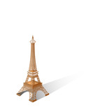 Eiffel tower vector illustration ,Paris. Icon design