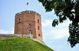 Wieża Giedymina na wzgórzu zamkowym