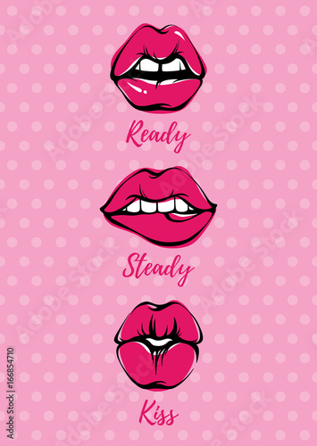 wektor-lips-kiss-illustration-card