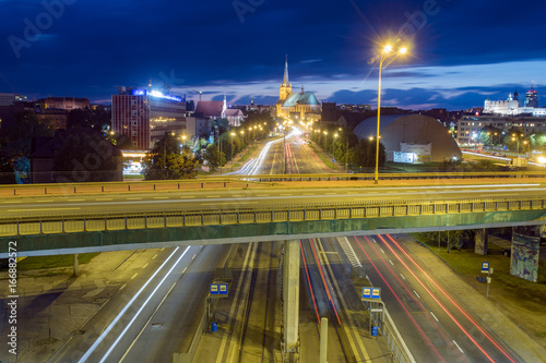 Access road to Szczecin, Poland - 166882572