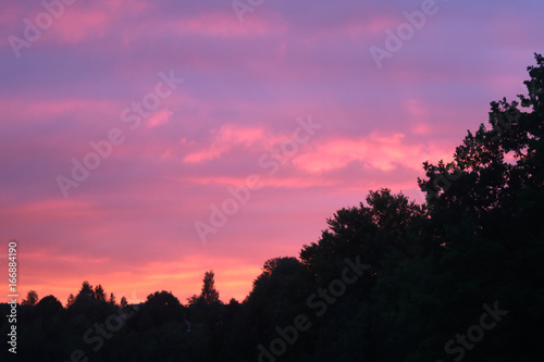 Poster Candy roze Abendrot